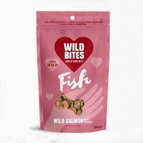 Wild Bites Wild Bites- Air Dried Wild Salmon w/Coconut 75g