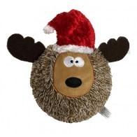 petlou PETLOU-Holiday Squeeky Reindeer Ball