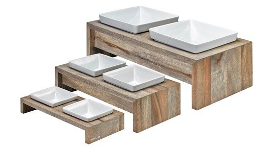 Bowsers Pet Products Bowsers-Artisan Double Diner MED