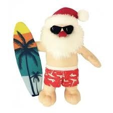 petlou PETLOU-Holiday Surfing Santa