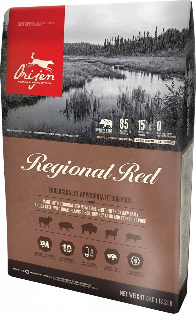 Champion Pet Foods Orijen Dog Food - Regional Red