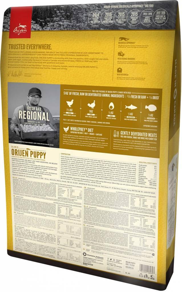 Champion Pet Foods Orijen Dog Food - Puppy