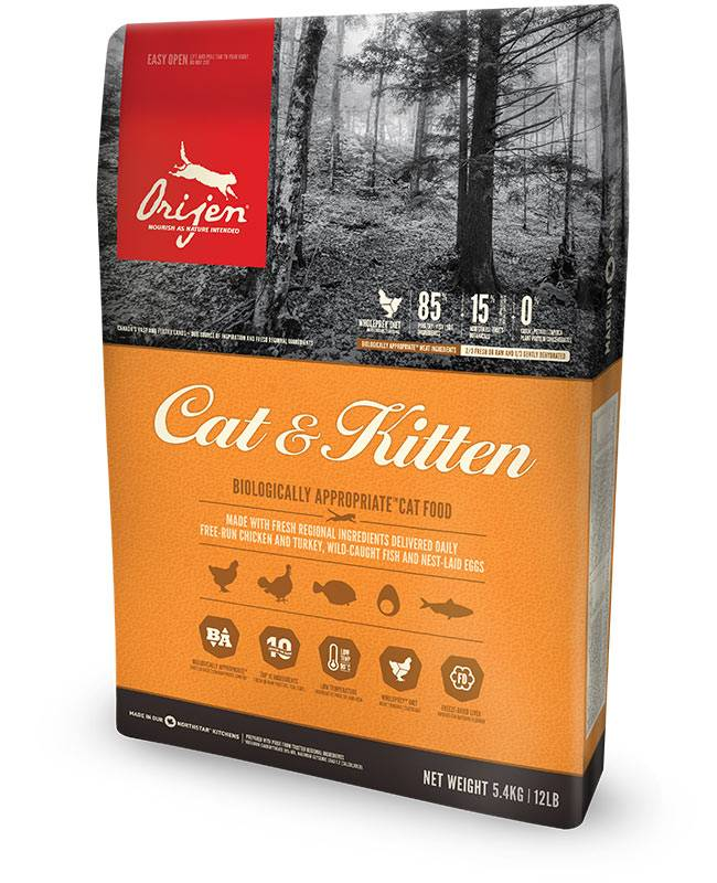 Champion Pet Foods Orijen Cat Food - Cat & Kitten