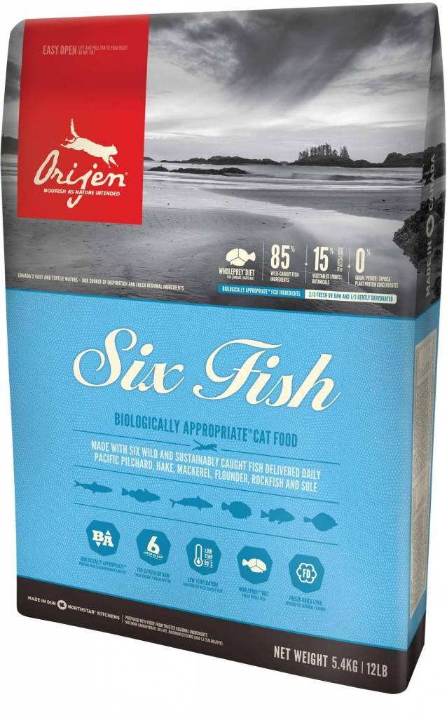 Champion Pet Foods Orijen Cat Food- 6 Fish
