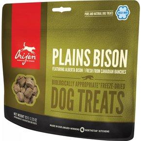 Champion Pet Foods Orijen Freeze Dried Dog Treats 3.25oz Plains Bison