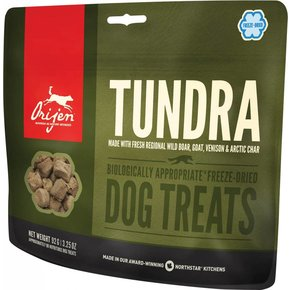 Champion Pet Foods Orijen Freeze Dried Dog Treats 3.25oz Tundra