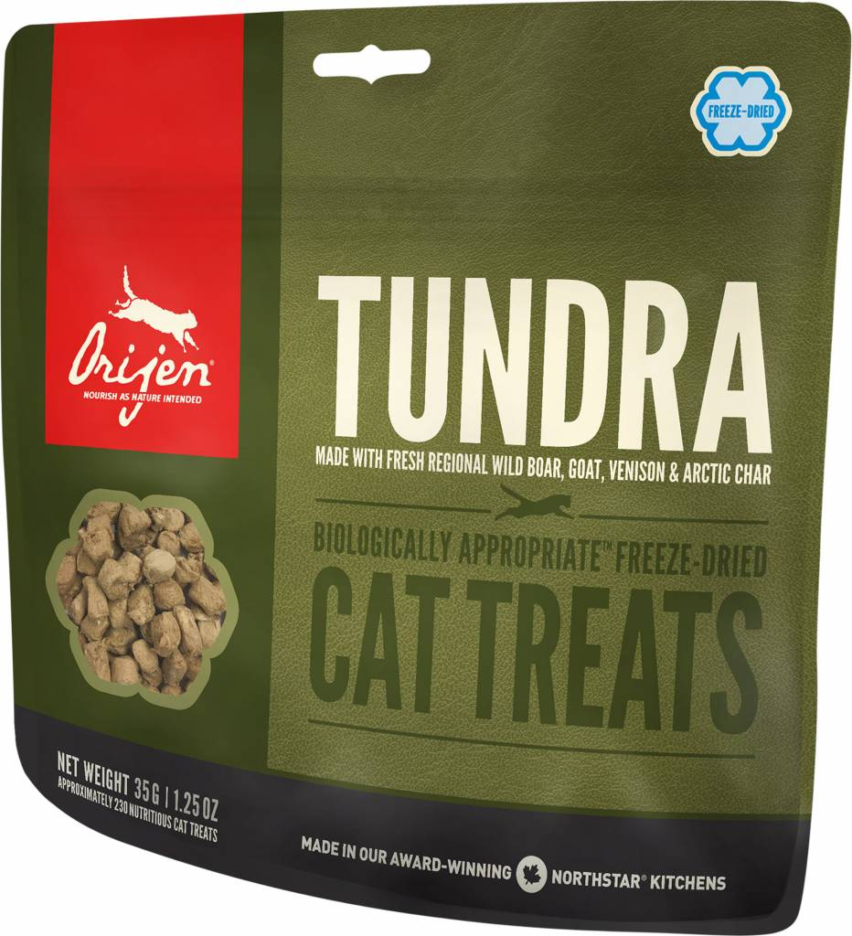 Champion Pet Foods Orijen Freeze Dried Cat Treats Tundra