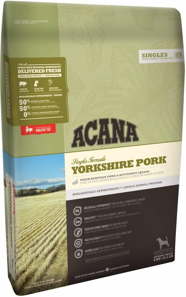 Champion Pet Foods Acana Dog Food - Yorkshire Pork