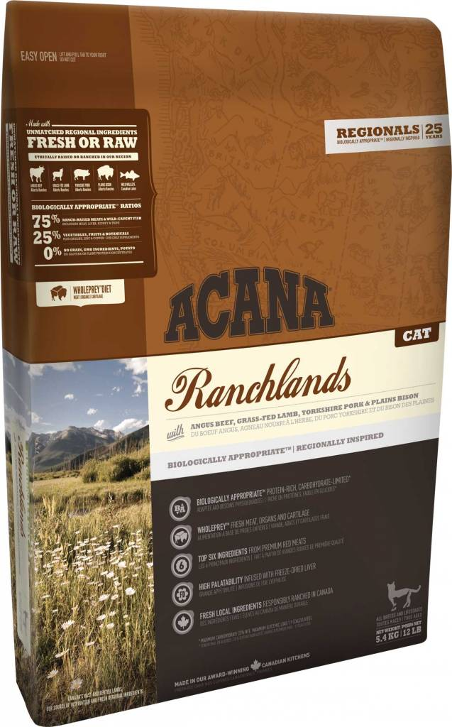 Champion Pet Foods Acana Cat Food - Ranchlands