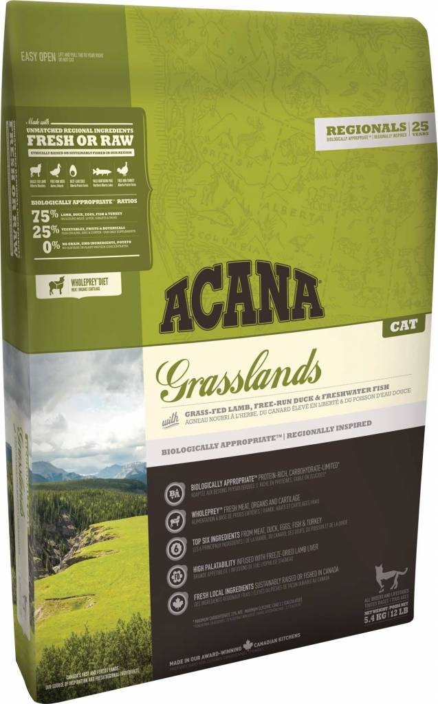 Champion Pet Foods Acana Cat Food - Grasslands