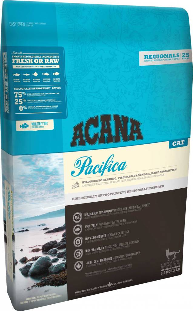 Champion Pet Foods Acana Cat Food - Pacifica