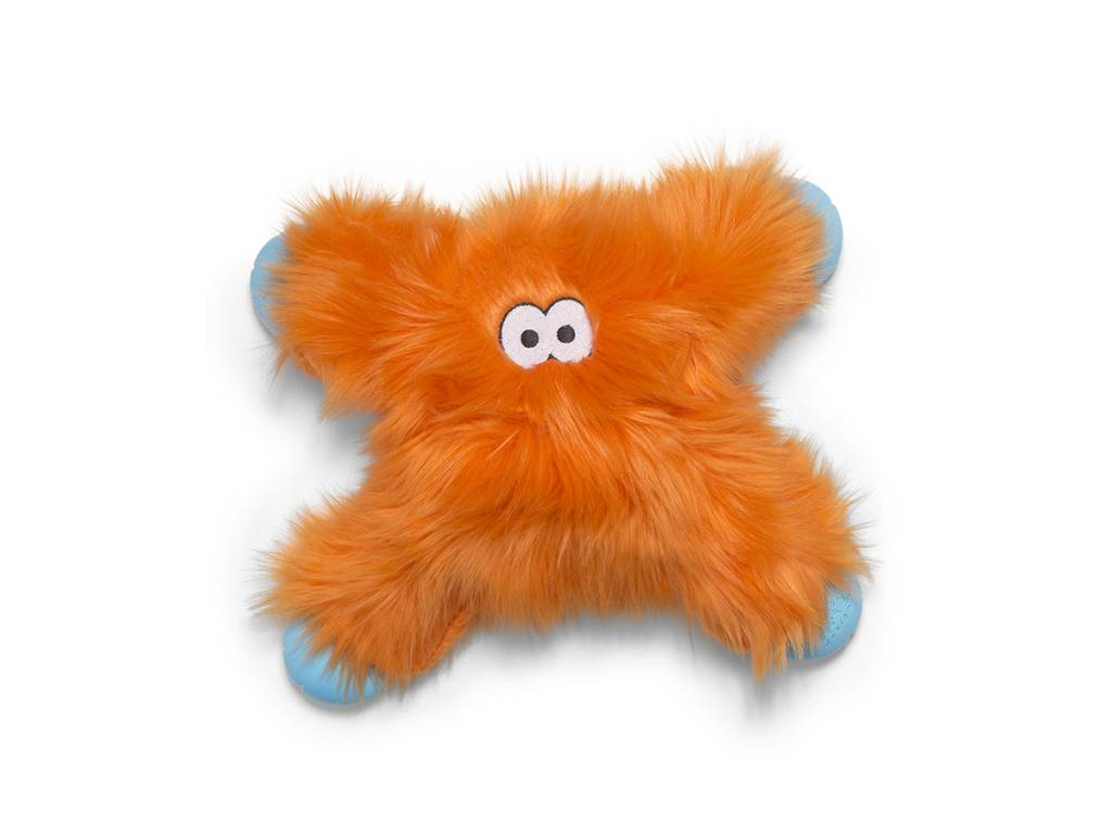 "West Paw Designs West Paw-Rowdies Durable Plush Dog Toy  ""Lincoln"" (disc.)"