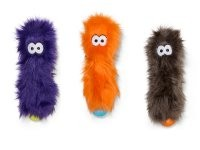 """West Paw Designs West Paw-Rowdies Durable Plush Dog Toy  """"Custer"""""""