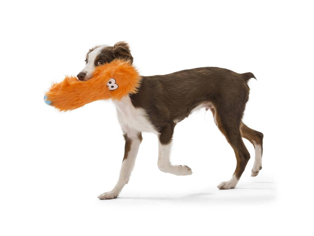 "West Paw Designs West Paw-Rowdies Durable Plush Dog Toy  ""Custer"""