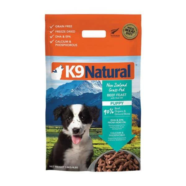 K9 Natural K9 Natural - Freeze Dried Puppy Beef w/Hoki Oil 4lb
