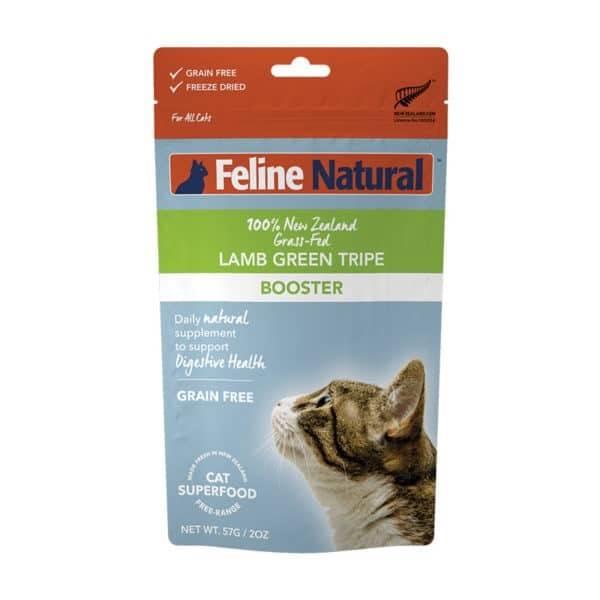 K9 Natural Feline Natural - Freeze Dried Cat Booster Green Lamb Tripe 57g