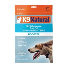 K9 Natural - Freeze Dried Booster Beef Green Tripe 250g
