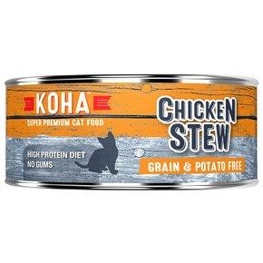 Koha Super Premium Pet Food Koha Cat Food-Chicken Stew 5.5oz