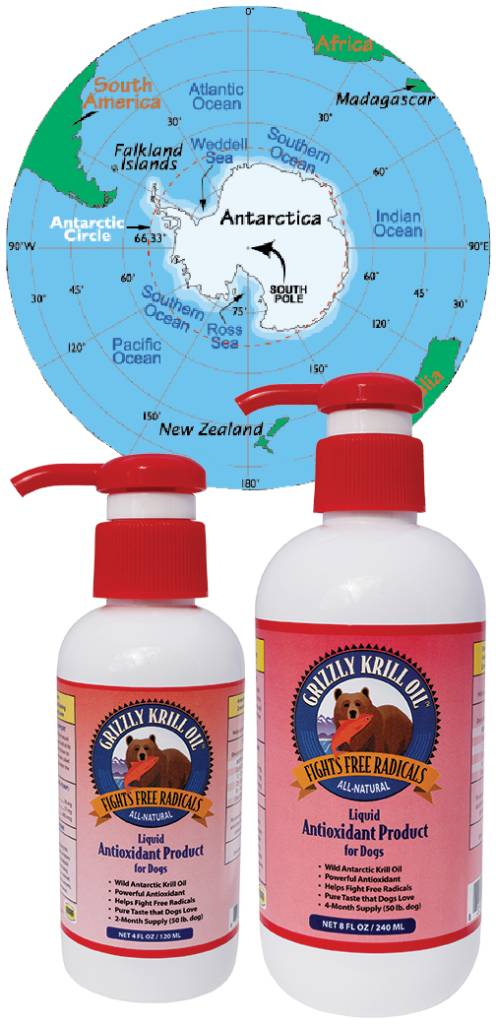 Grizzly Pet Products Grizzly Salmon-Krill Oil
