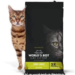 World's Best Worlds Best Cat Litter-Advanced Zero Mess Pine