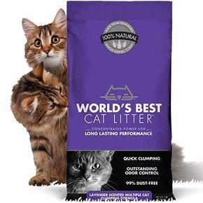 World's Best Worlds Best Cat Litter-MultiCat Scented