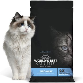 World's Best Worlds Best Cat Litter-Advanced Zero Mess