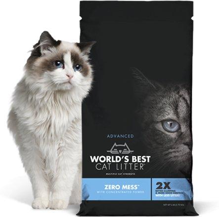 World's Best Worlds Best Cat Litter-Advanced Zero Mess