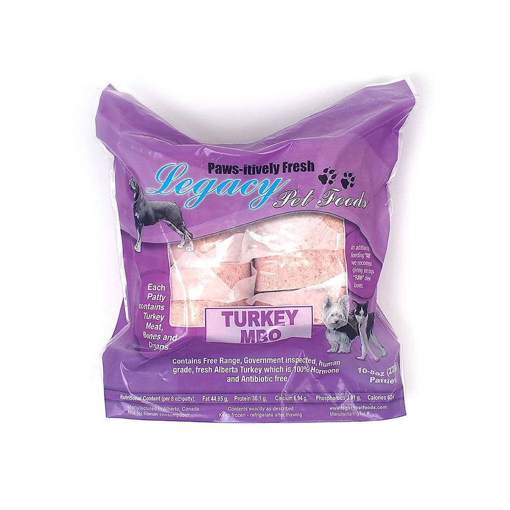 Legacy Pet Foods Legacy-Turkey MBO