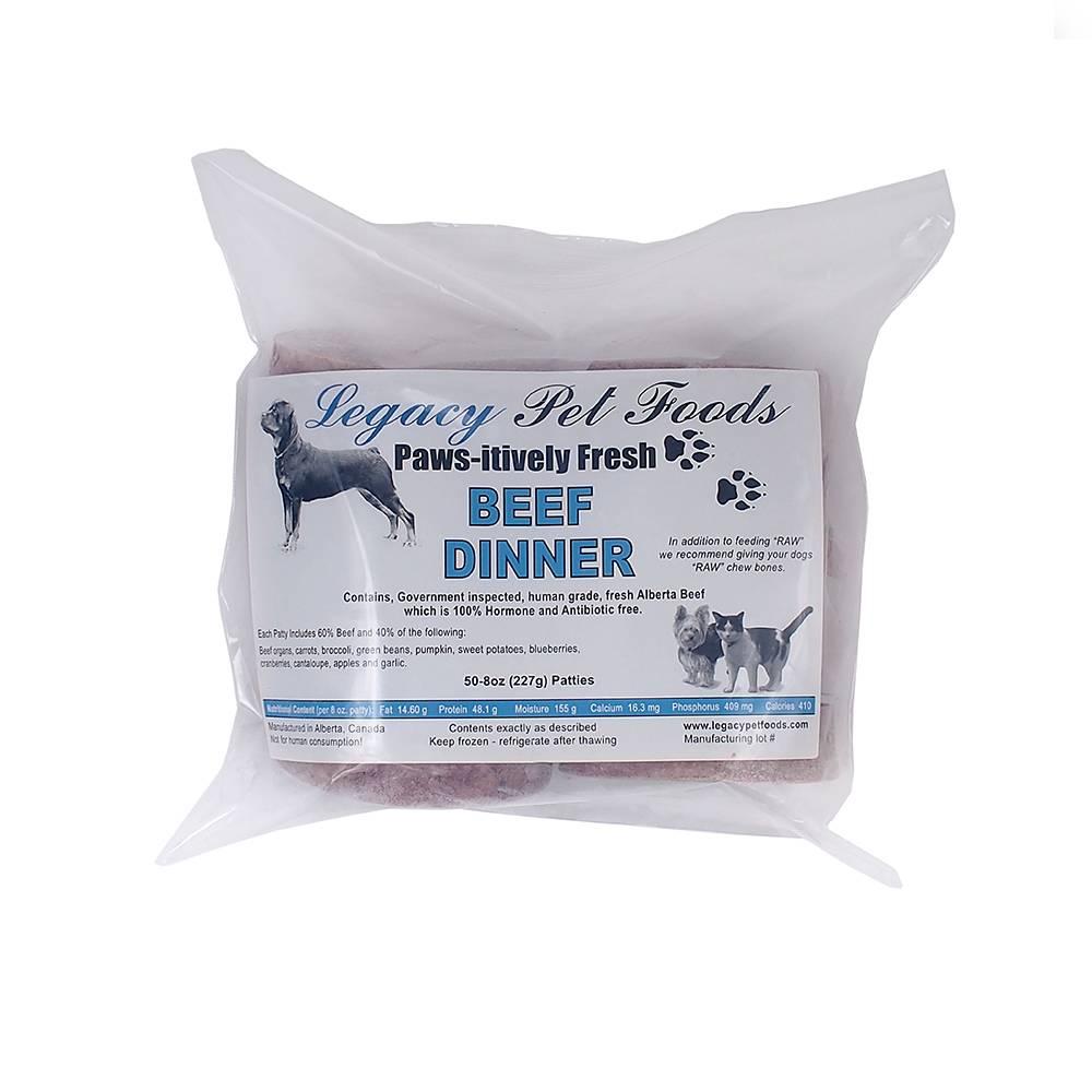 Legacy Pet Foods Legacy- Beef Dinner
