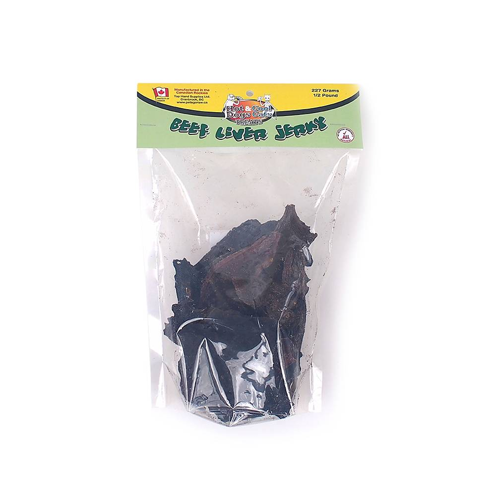 Pets Go Raw Pets Go Raw - Beef Liver Jerky Treat 227 g