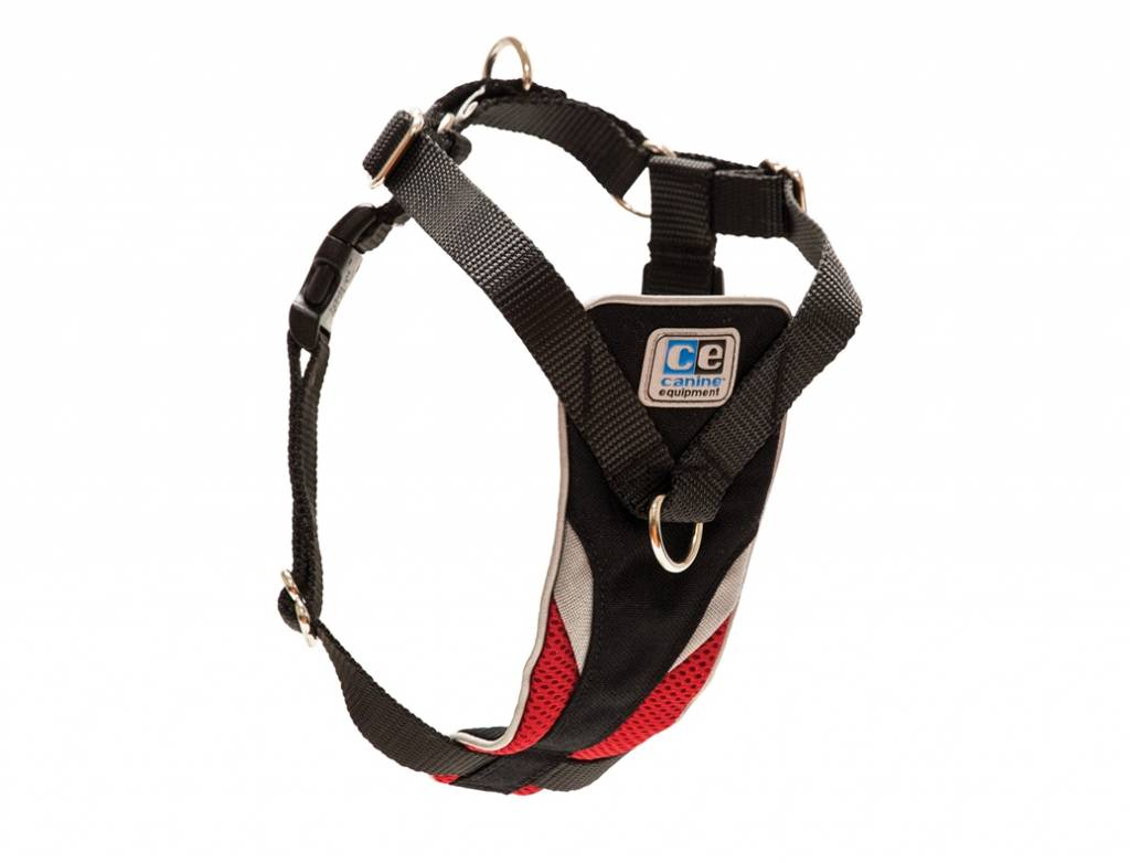 Canine Equipment Canine Equipment-Ultimate Control Harness Red