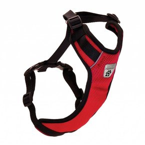 Canine Friendly-Vented Vest Harness V2 Red