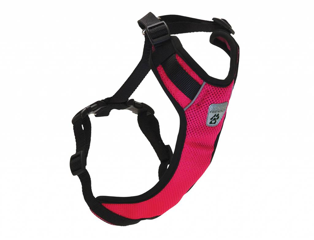 Canine Friendly Canine Friendly-Vented Vest Harness V2 Raspberry