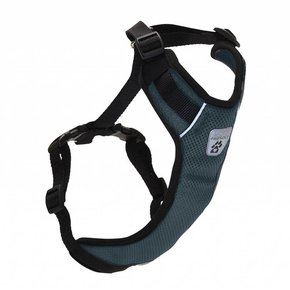 Canine Friendly-Vented Vest Harness V2 Charcoal
