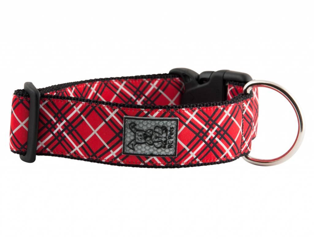 """RC Pets RC Pet- 1.5"""" Wide Clip Collar Medium"""