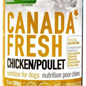 Canada Fresh- Canned Dog Food 369g