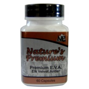 Nature's Premium Nature's Premium- Elk Velvet Supplement Powder 60 capsules