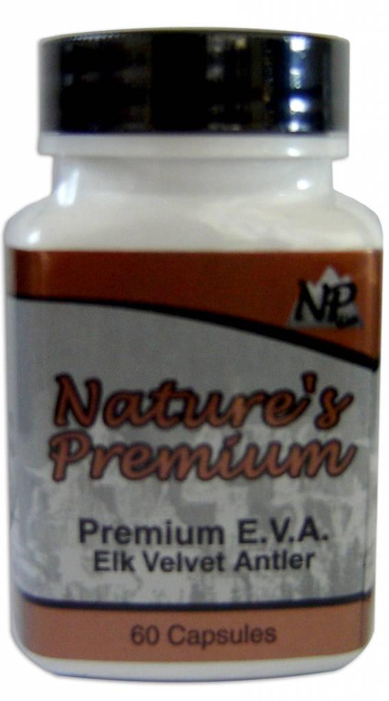 Nature's Premium Nature's Premium- Elk Velvet Supplement Powder 60 capsules