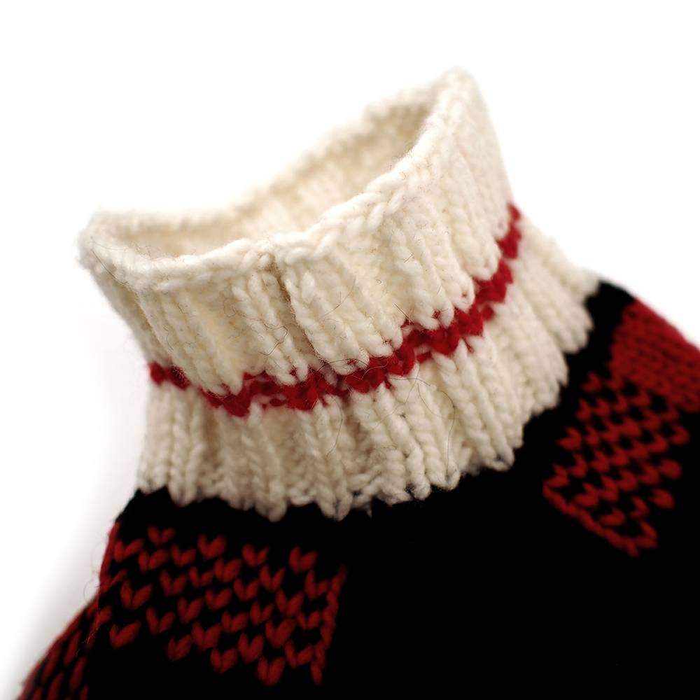 Chilly Dog Sweaters Chilly Dog Sweaters-Buffalo Plaid Red