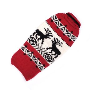 Chilly Dog Sweaters Chilly Dog Sweaters-Red Reindeer