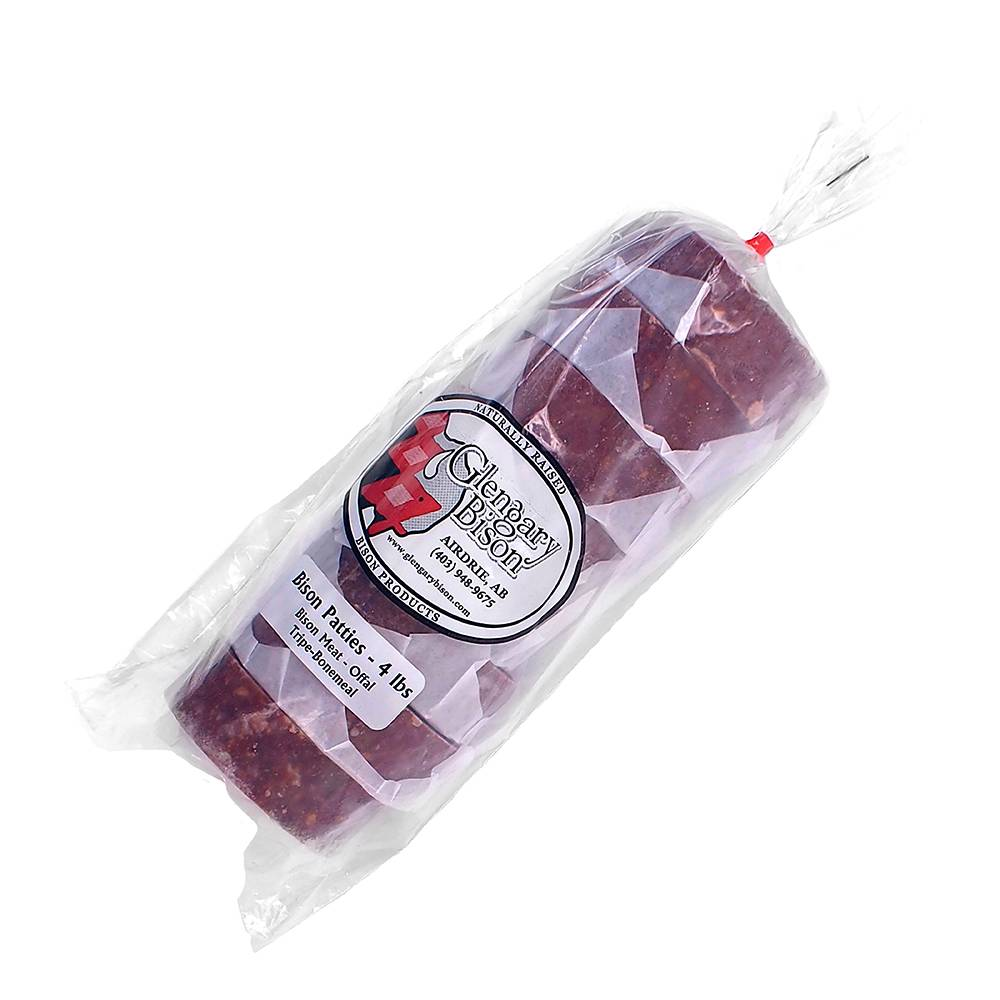 Glengary Bison Glengary Bison- Bison Patties 4lb bag