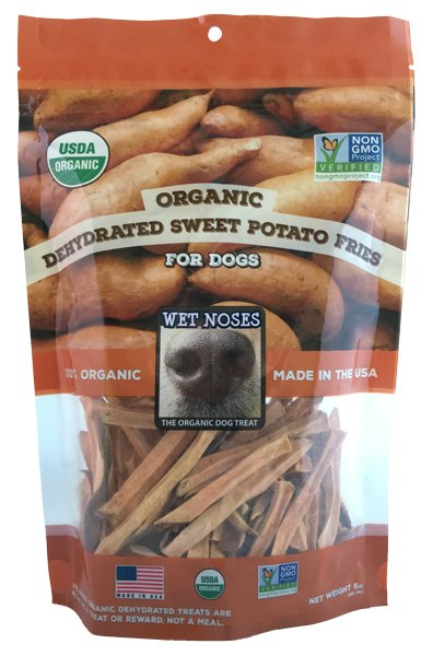 Wet Noses Dog Treats Wet Noses-Organic Sweet Potato Fries 5oz