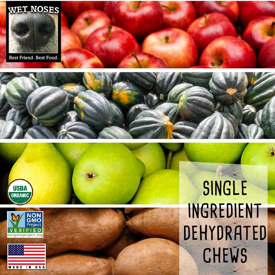 Wet Noses Dog Treats Wet Noses-Organic Sweet Potato Fries 5oz