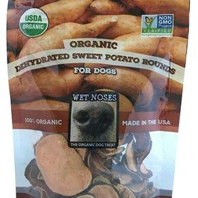 Wet Noses-Organic Sweet Potato Rounds 5oz