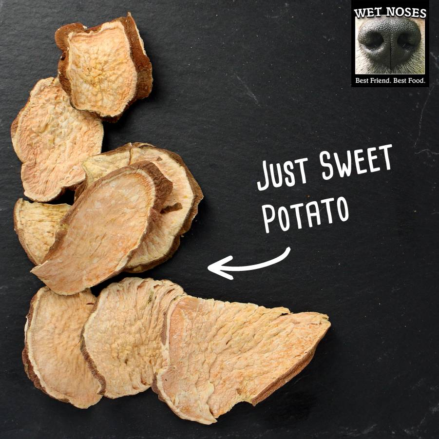 Wet Noses Dog Treats Wet Noses-Organic Sweet Potato Rounds 5oz
