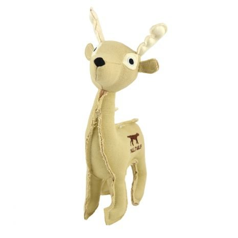 Tall Tails Tall Tails- Canvas Dog Toy w/ Squeaker