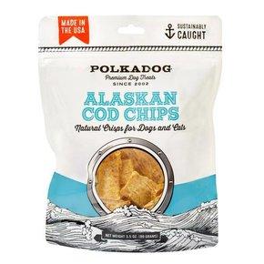 Polkadog Polkadog-Alaskan Cod Chips 3.5oz