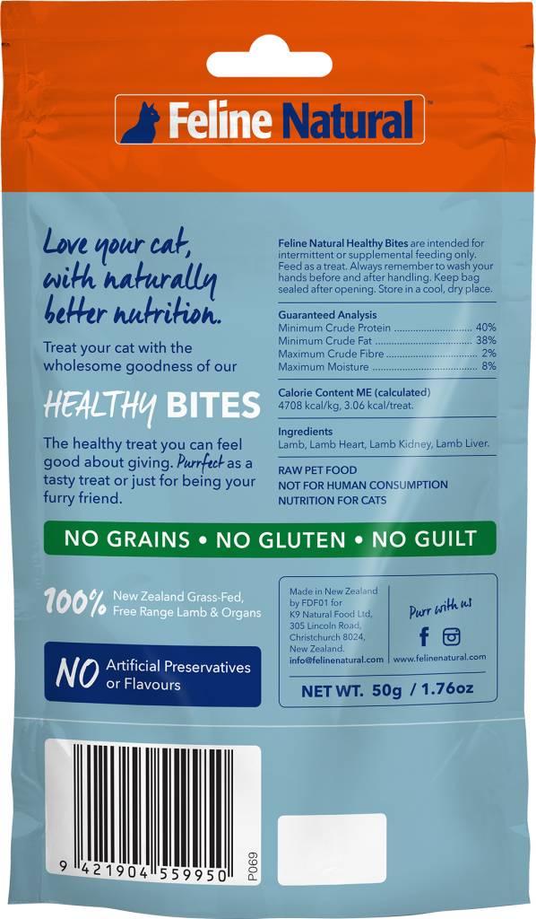 K9 Natural Feline Natural - Lamb Healthy Bite Cat Treats