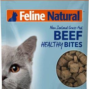 Feline Natural - Beef Healthy Bite Cat Treats