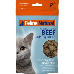 K9 Natural Feline Natural - Beef Healthy Bite Cat Treats